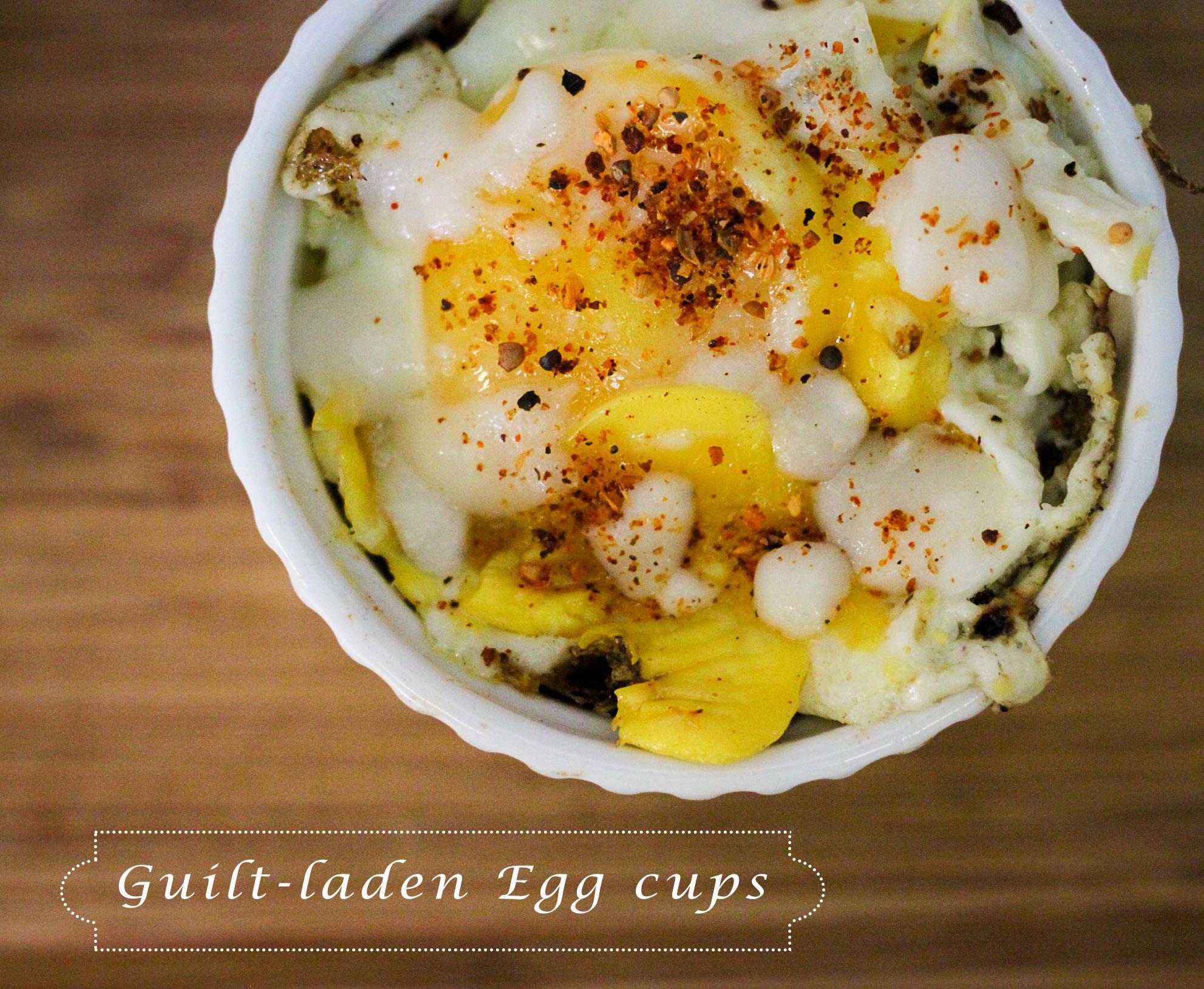 guilt-laden egg cups
