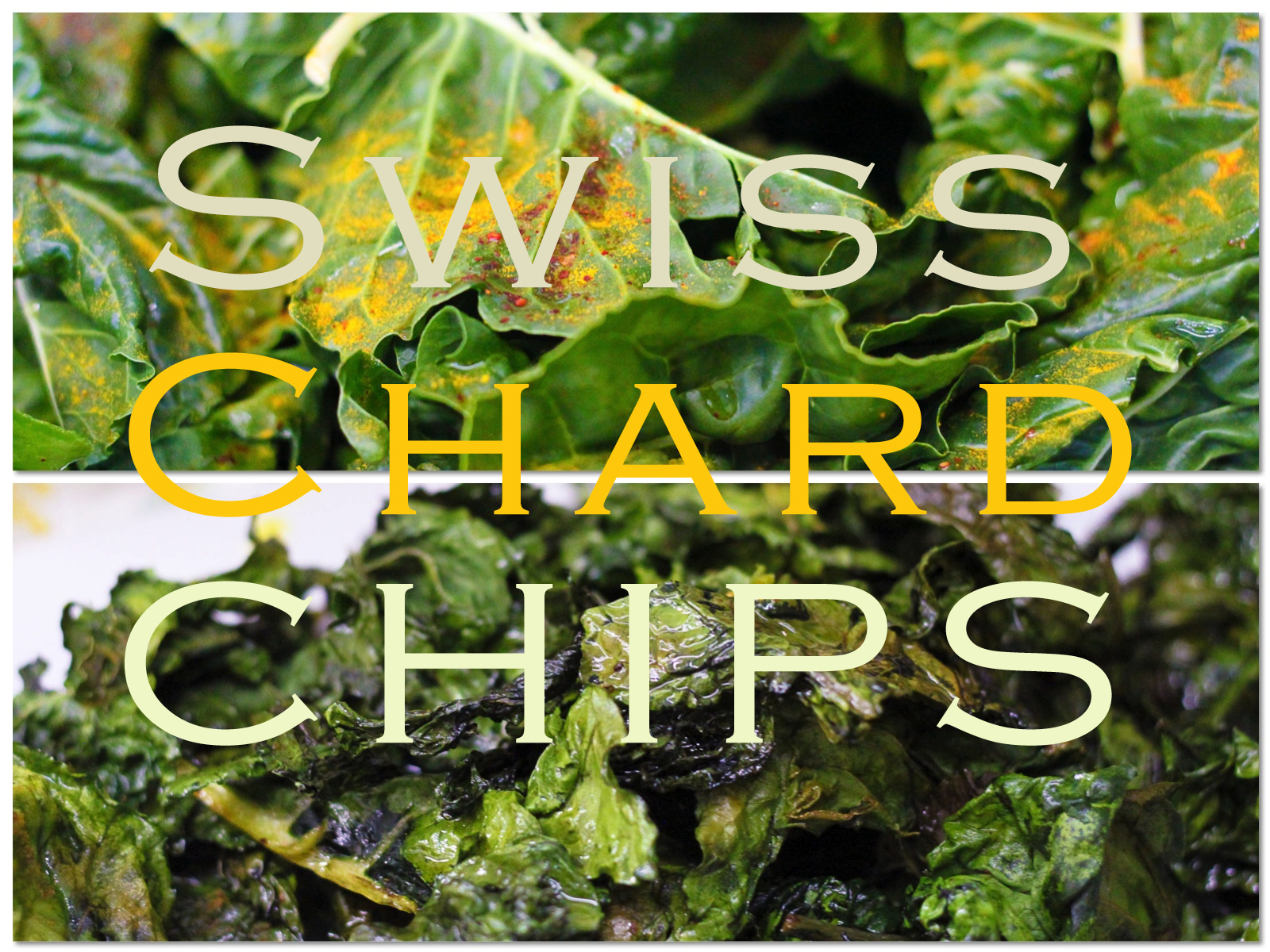 pimente + turmeric swiss chard crisps. | land of nams